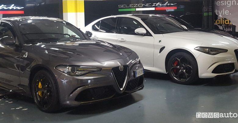 Alfa Romeo Giulia Quadrifoglio nella flotta Hertz