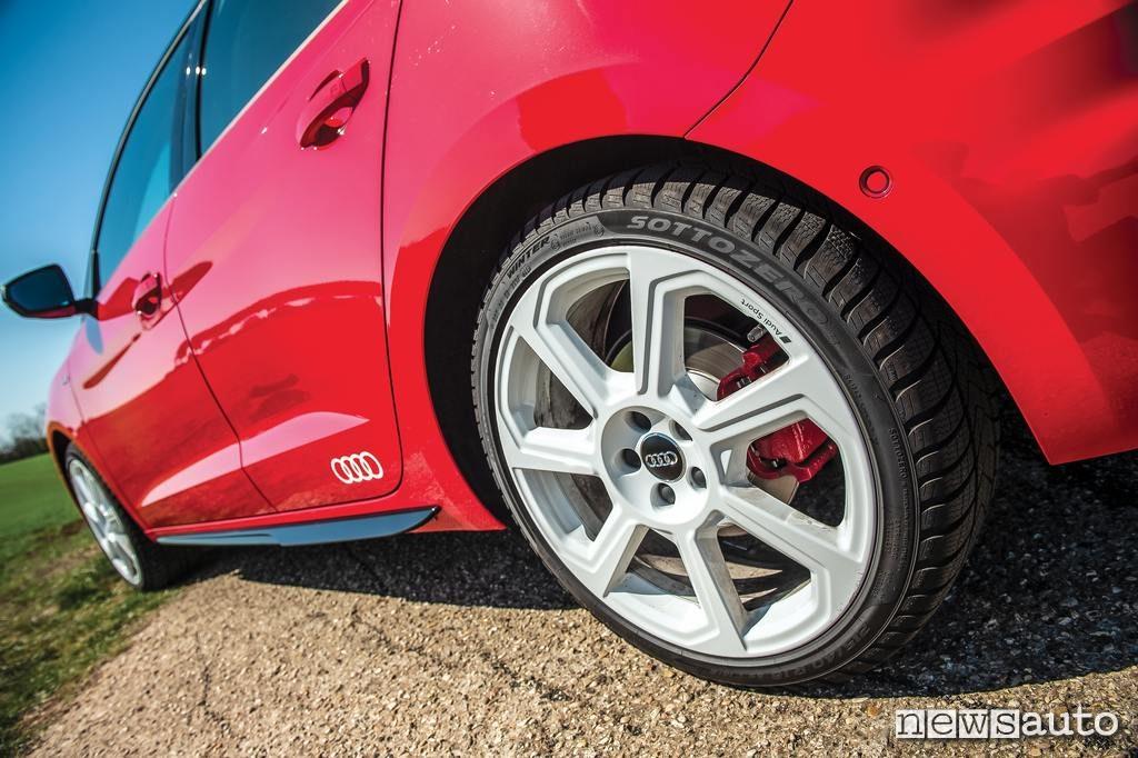 Audi A1 2019 cerchio da 18