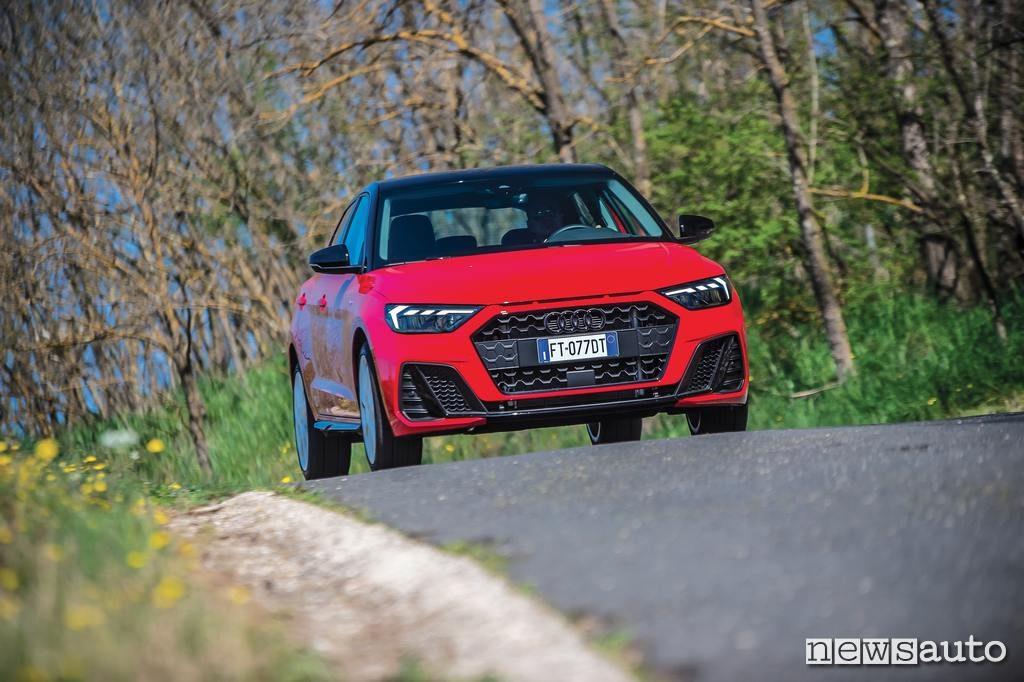 Audi A1 Sportback 2019 come va su strada DSG