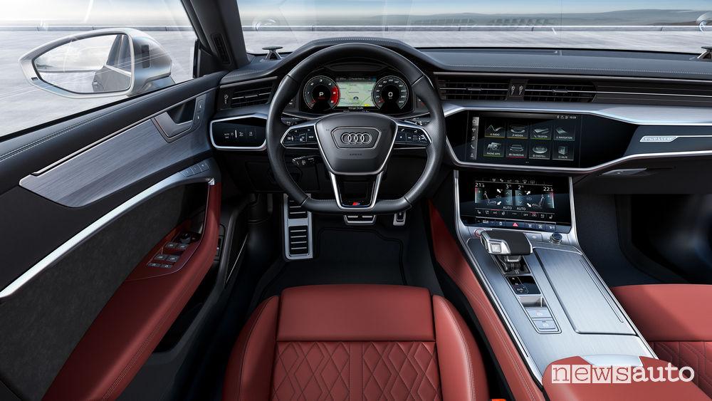 Audi S7 Sportback TDI plancia strumenti