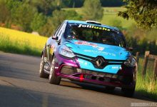 La Clio_RS-R3T al Sachsen-Rallye-2019-Kai Gunther incidente mortale