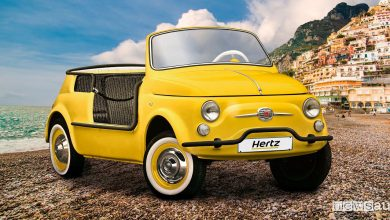 Photo of Noleggio Fiat 500 storica, la versione elettrica nella flotta Hertz