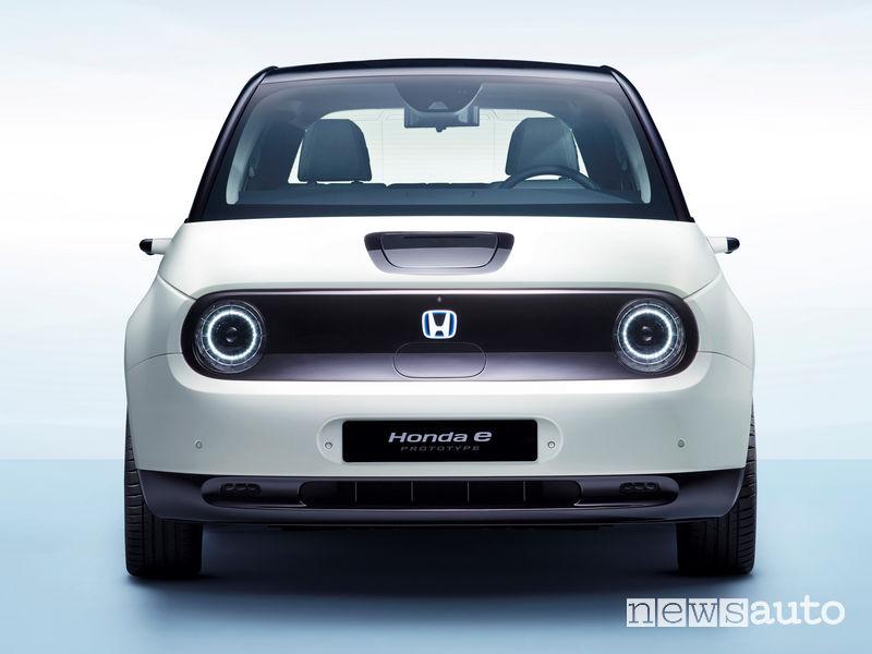Honda e-Prototype vista frontale