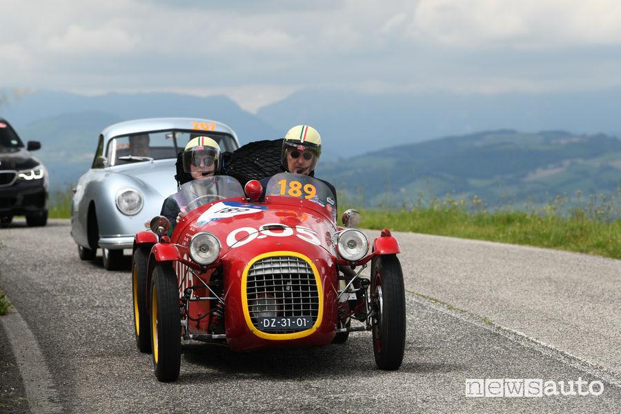 Mille Miglia 2019 Olthof/Olthof Giannini 750 Sport 1950