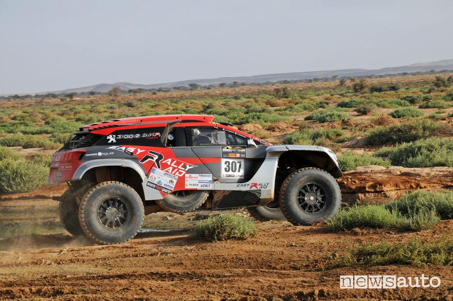 Peugeot DKR3008 (Easy Rally Raid) di Jean Pascal Besson e Sébastien Delaunay al Morocco Desert Challenge 2019