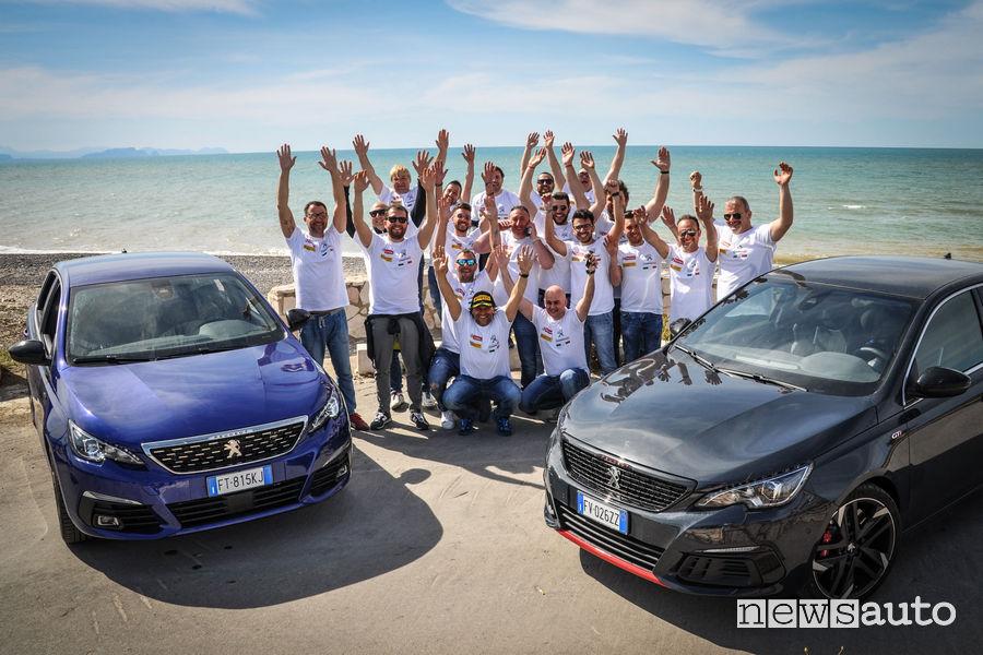 Peugeot Motorsport Academy con Paolo Andreucci in Sicilia
