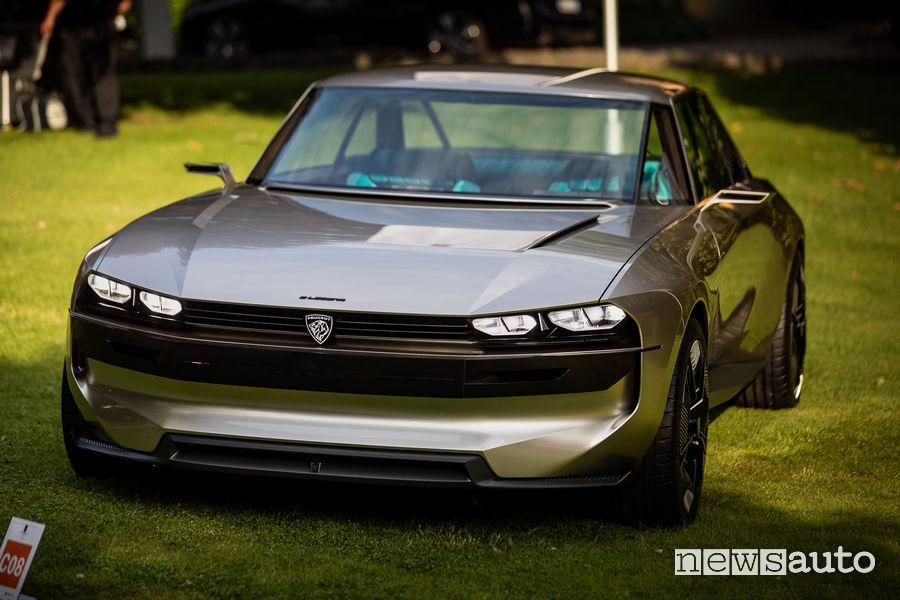 Peugeot e-Legend Concept al Concorso Villa d'Este 2019