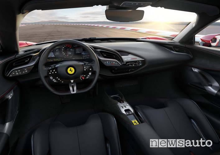 Ferrari SF90 Stradale interni
