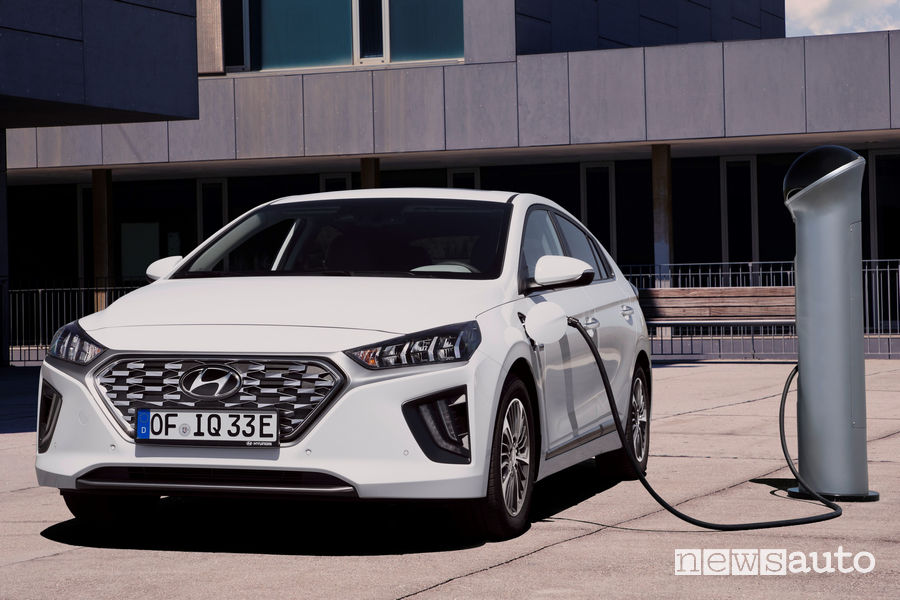 Ricarica Hyundai Ioniq Plug-In Hybrid