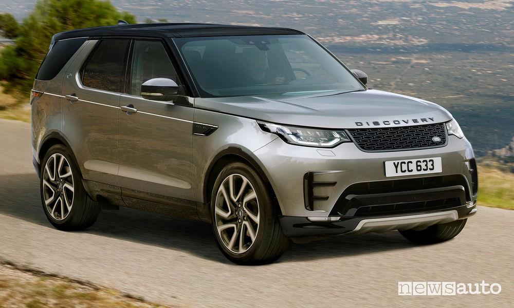 vendite auto aprile 2019 Europa Regno Unito Land Rover Discovery Landmark Edition