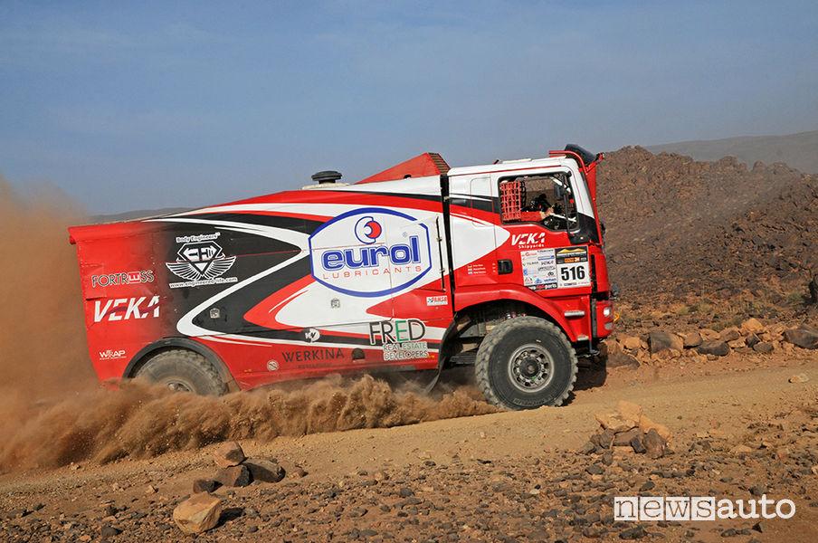 Morocco Desert Challenge 2019 truck