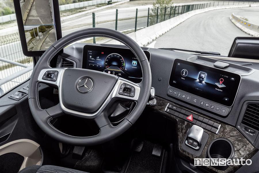 Abitacolo Mercedes-Benz Actros