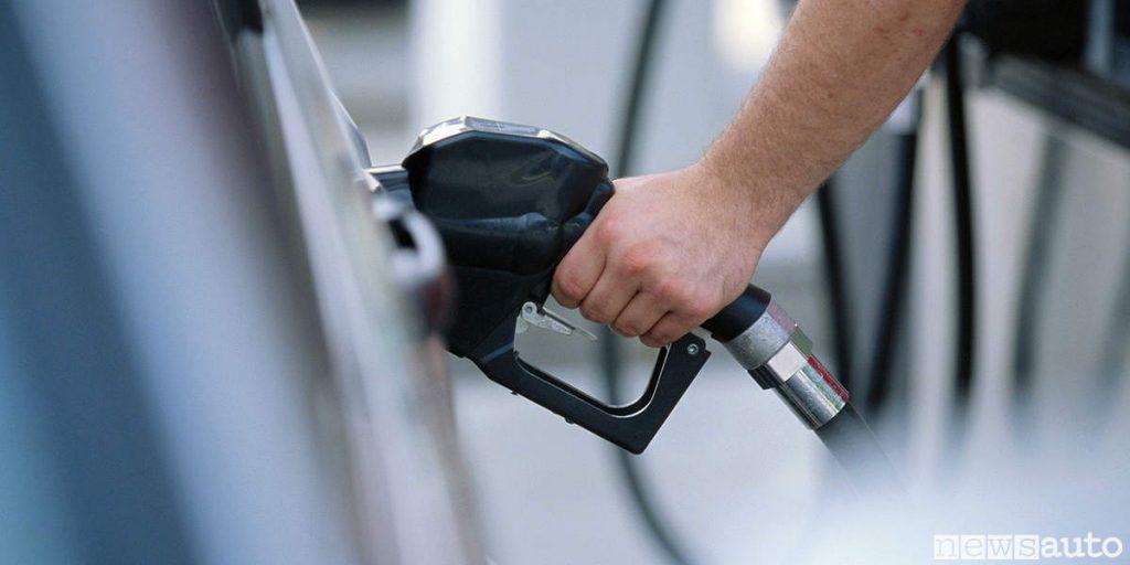 accise carburanti prezzo benzina diesel