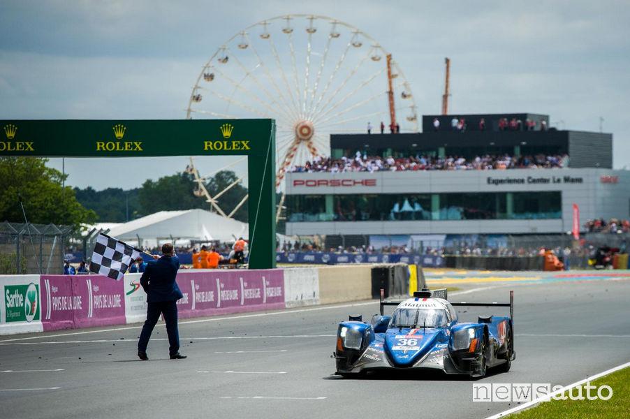 Bandiera a scacchi alla 24 Ore di Le Mans: l'edizione 2020 si corre a settembre