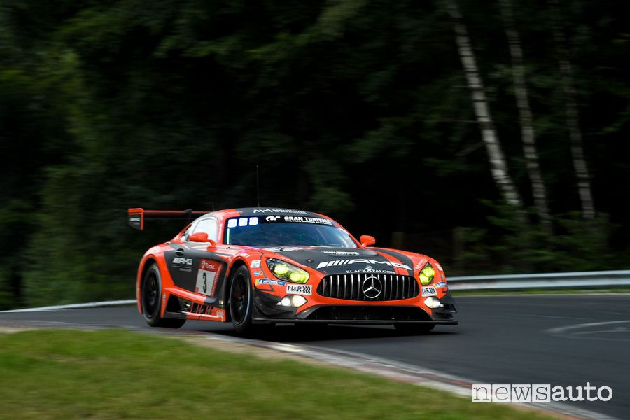 Mercedes-AMG GT3 3^ alla 24 Ore del Nurburgring 2019