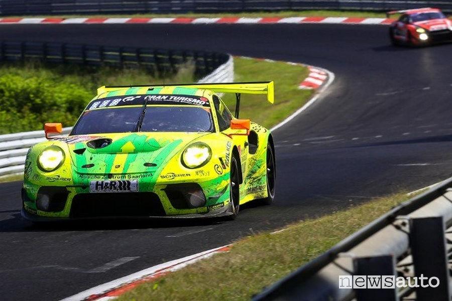Porsche 911 GT3 R 2^ alla 24 Ore del Nurburgring 2019