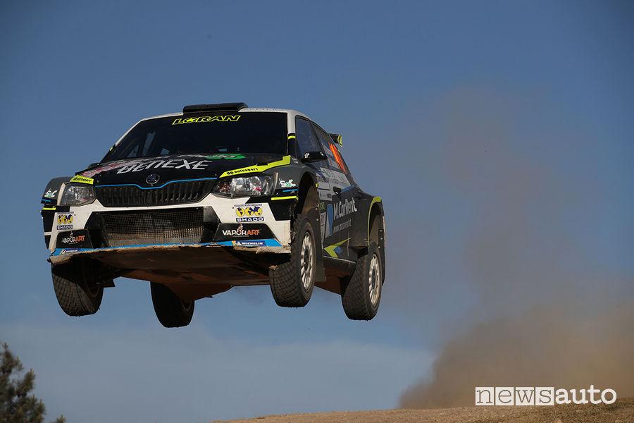 CIR 2019 Rally Italia Sardegna Skoda Fabia R5 Basso/Granai