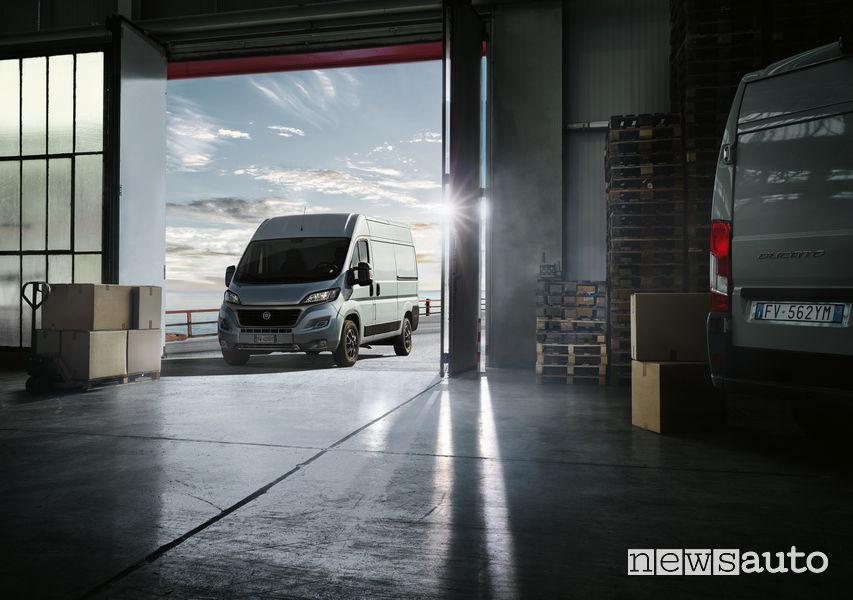 Fiat Ducato 2020 con motori diesel Multijet 2, metano ed elettrico