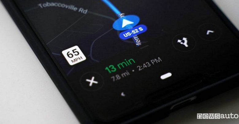 Tachimetro Google Maps