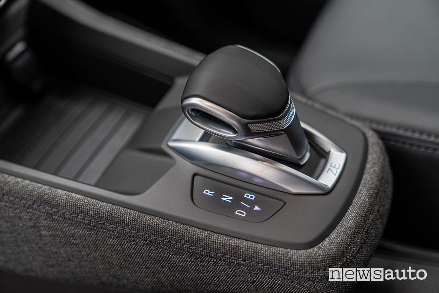 """Leva del cambio e-shifter con modalità di guida """"D"""" e """"B"""", Nuova Renault Zoe"""