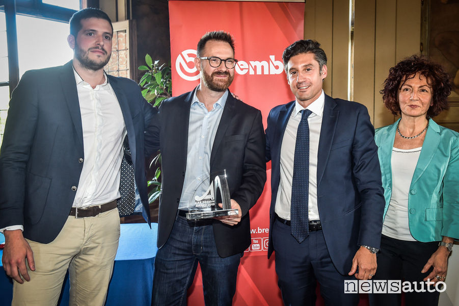 Eric Dejou e Kevin Goncalves Car Design Award 2019