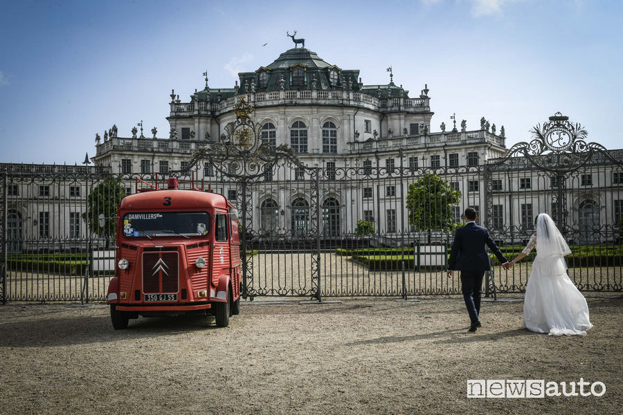 Citroën furgone HY al raduno del Centenario di Torino al Parco Valentino 2019