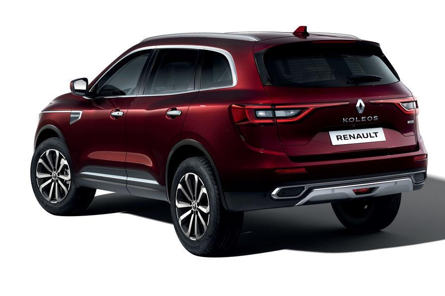 Nuovo Renault Koleos 2019 vista posteriore