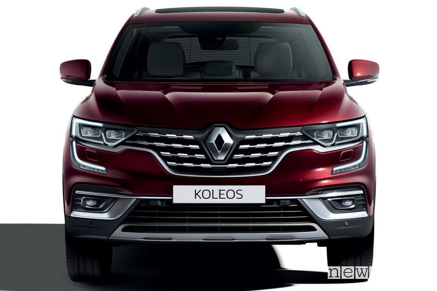 Nuovo Renault Koleos 2019 frontale