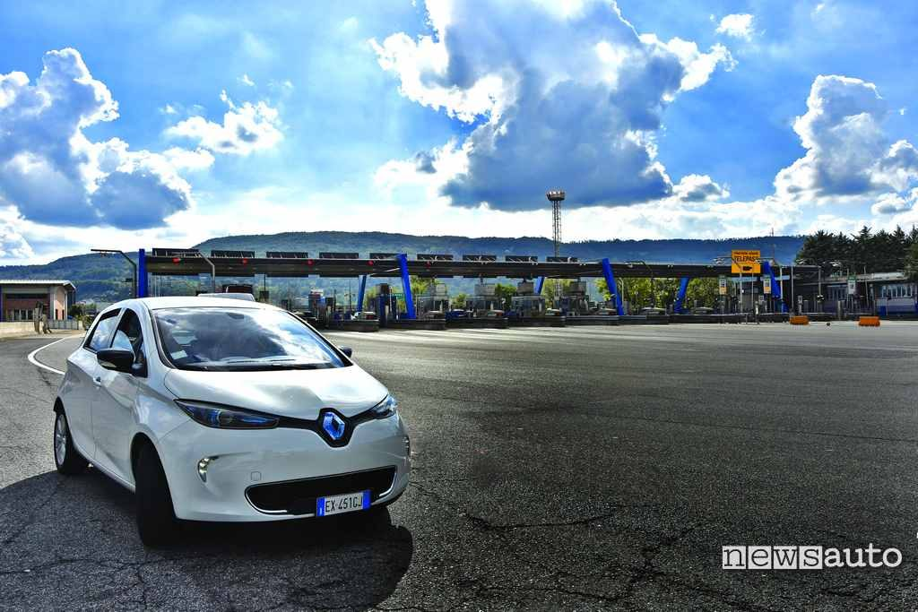 Renault Zoe autostrada