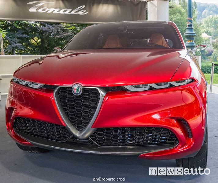 Salone Auto di Torino Parco Valentino 2019: Alfa Romeo Tonale Concept