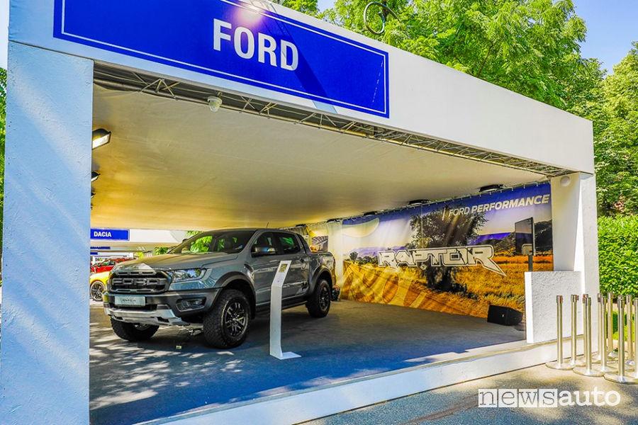 Stand Ford al Salone dell'Auto di Torino Parco Valentino 2019