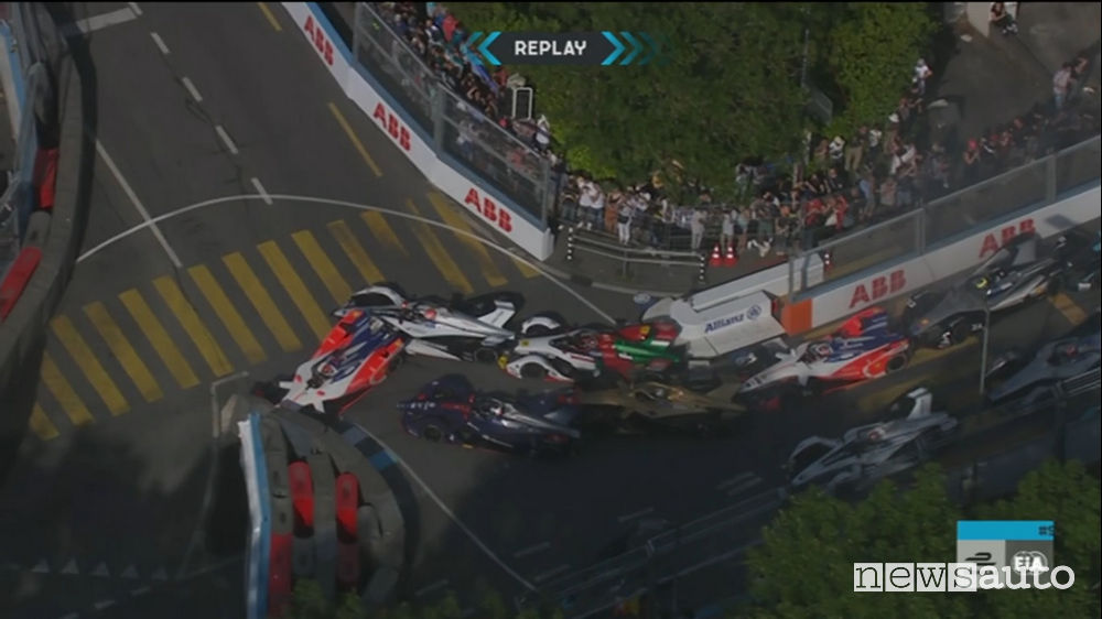 incidente eprix berna 2019 formula e