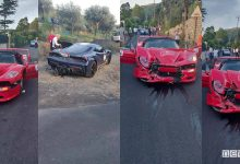 incidente ferrari cavalcade 2019