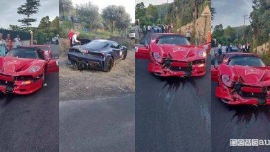 Photo of Incidente Ferrari Cavalcade 2019, distrutta F50 [VIDEO]