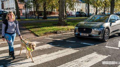 Rumore auto elettriche AVAS Jaguar I-Pace