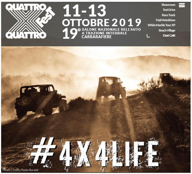 Locandina Carrara 4x4 Fest 2019