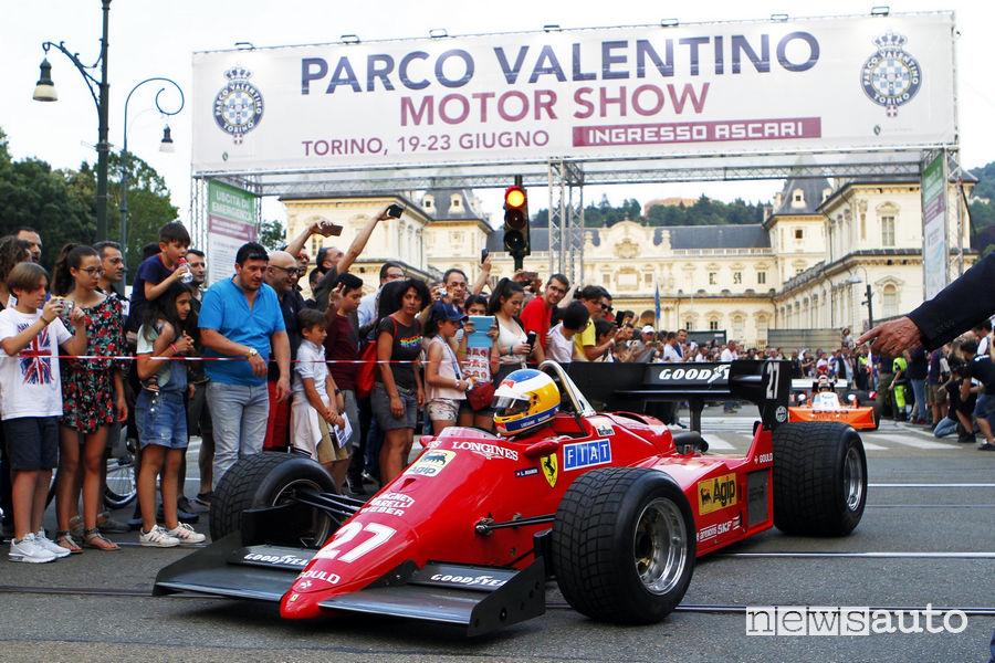Supercar Parade del Salone dell'Auto di Torino Parco Valentino 2019