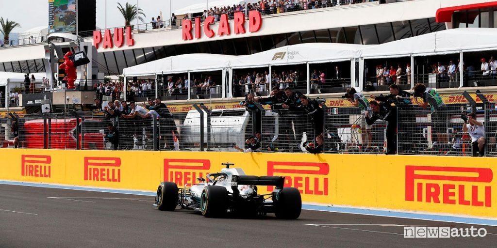 orari gp francia f1 2021 circuito paul ricard