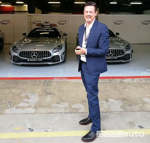 Roberto Bianchi, founder di All Sport e Agente Esclusivo per F1 in Italia