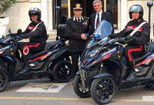 Scooter a 4 ruote, ai Carabinieri