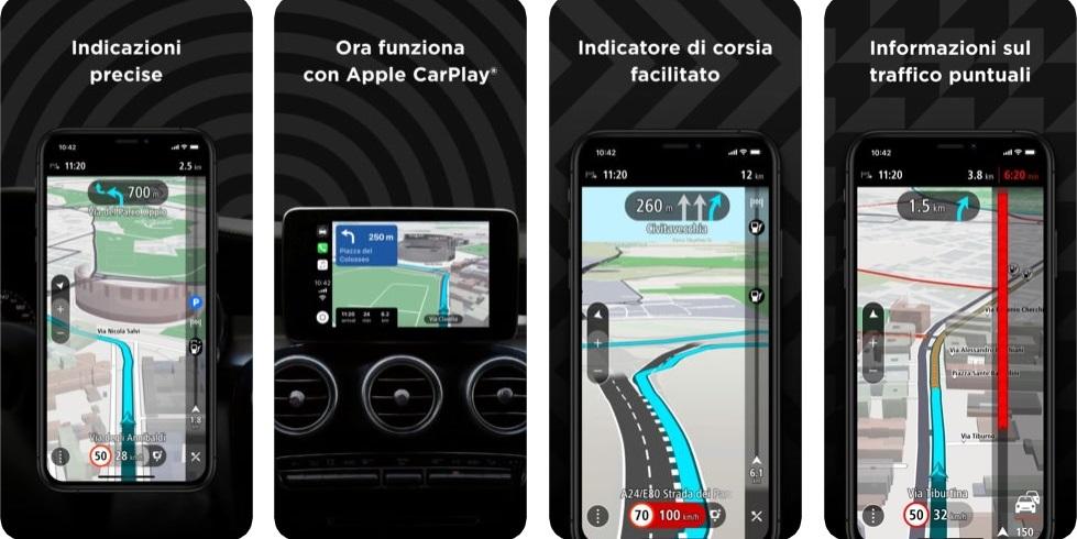 App Navigatore TomTom GO Navigation