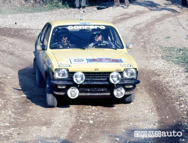 Opel Kadett rally 1977