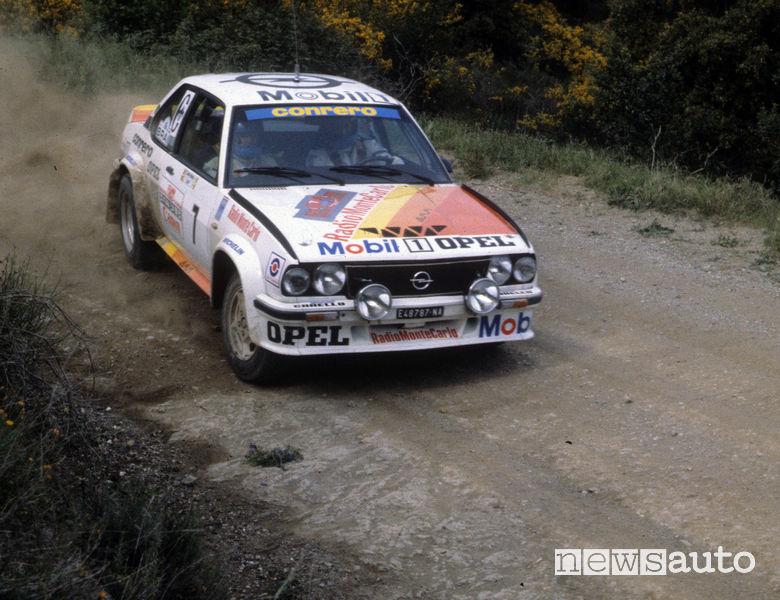 Opel Ascona rally 1979