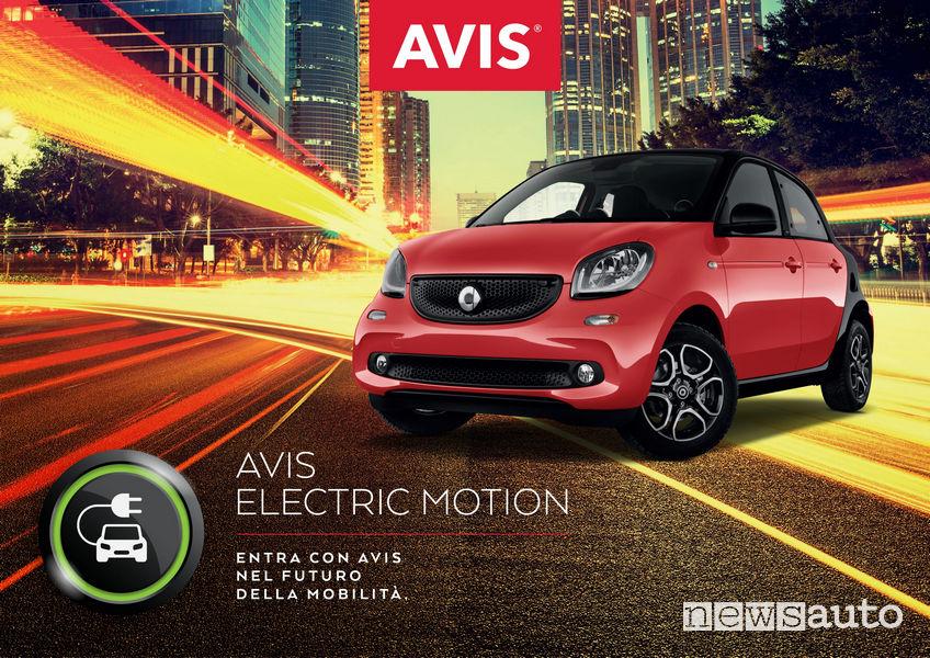 Avis Electric Motion Noleggio auto elettriche a Roma e Milano