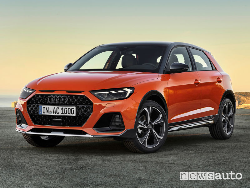 Audi A1 citycarver prezzi