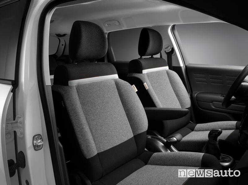 Citroën C3 Origins Origins sedili anteriori