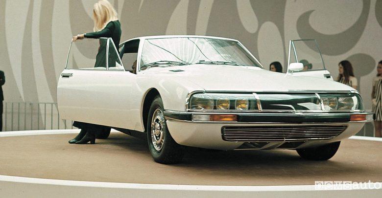 Auto sportiva storica Citroen DS SM