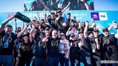 Formula E 2019, DS Techeetah campione del Mondo ePrix New York