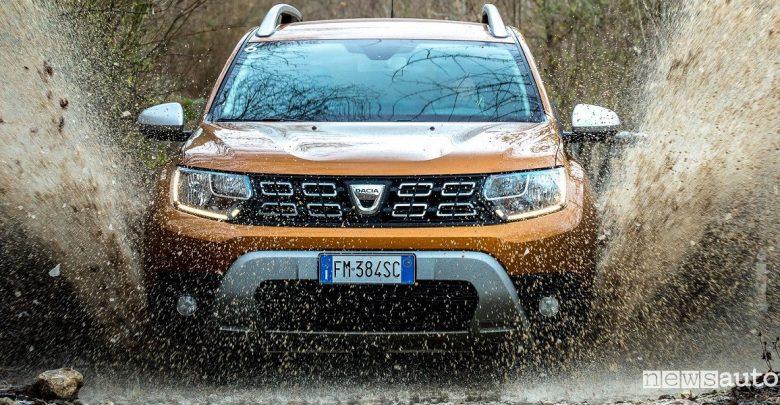 Dacia Duster 4×4 benzina