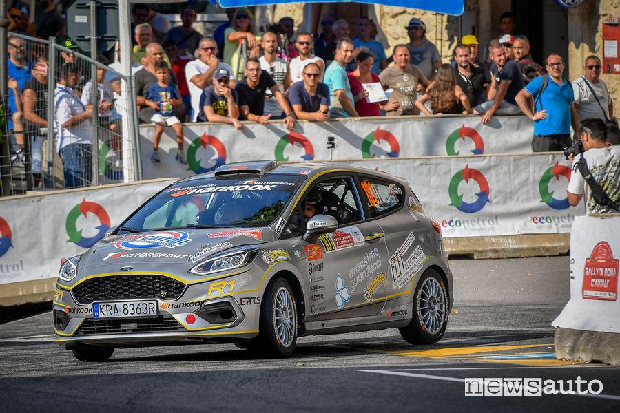Ford Fiesta R1 classe R1 Rally di Roma 2019